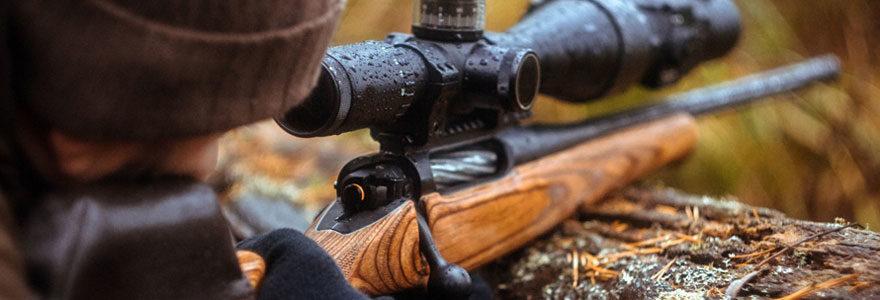 un fusil de chasse