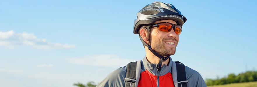 lunette de cycliste